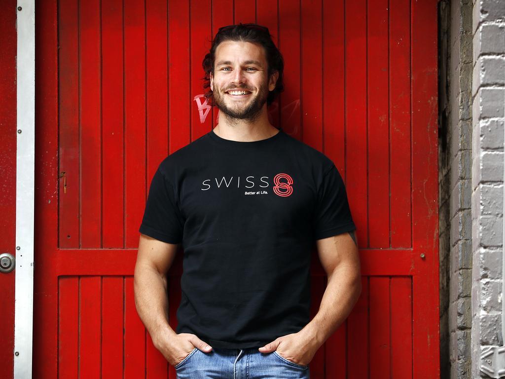 Adrian Sutter from Swiss 8. Picture: Sam Ruttyn