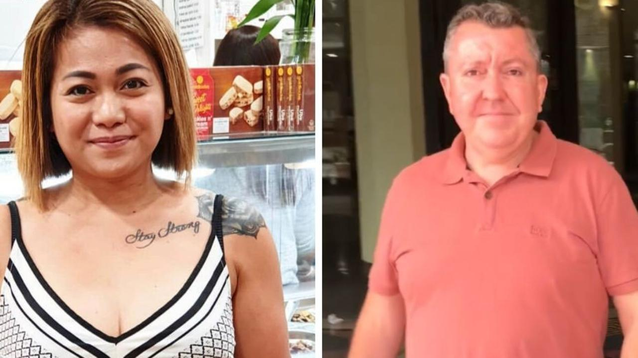 A woman who was forced to work around the clock for a couple who controlled her life has revealed the chilling way she was trapped.