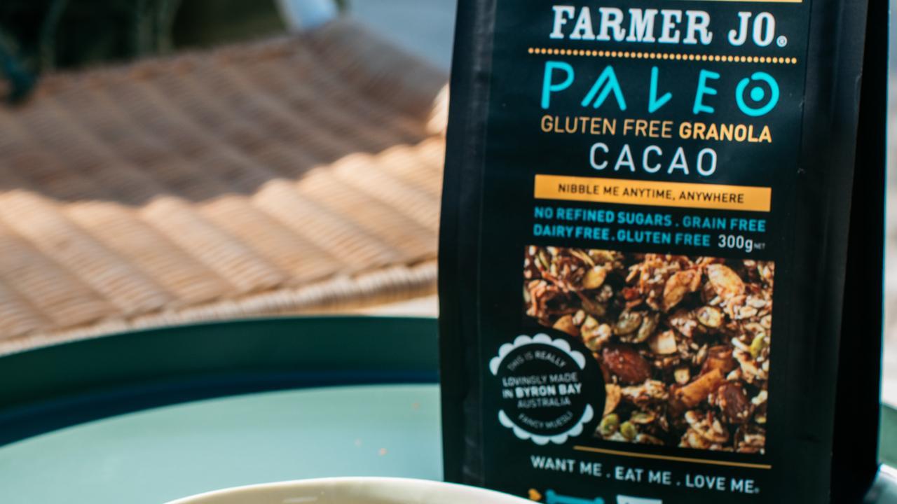 A Farmer Jo's granola. Picture: Supplied