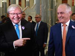 Beattie's brutal takedown of best 'frenemies' Rudd, Turnbull