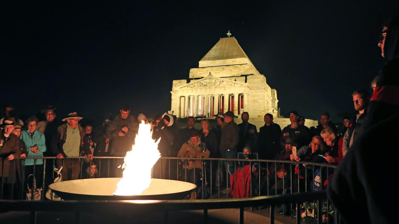 Dawn Services are being held across the country for Anzac Day. Picture: AAP Image/David Crosling