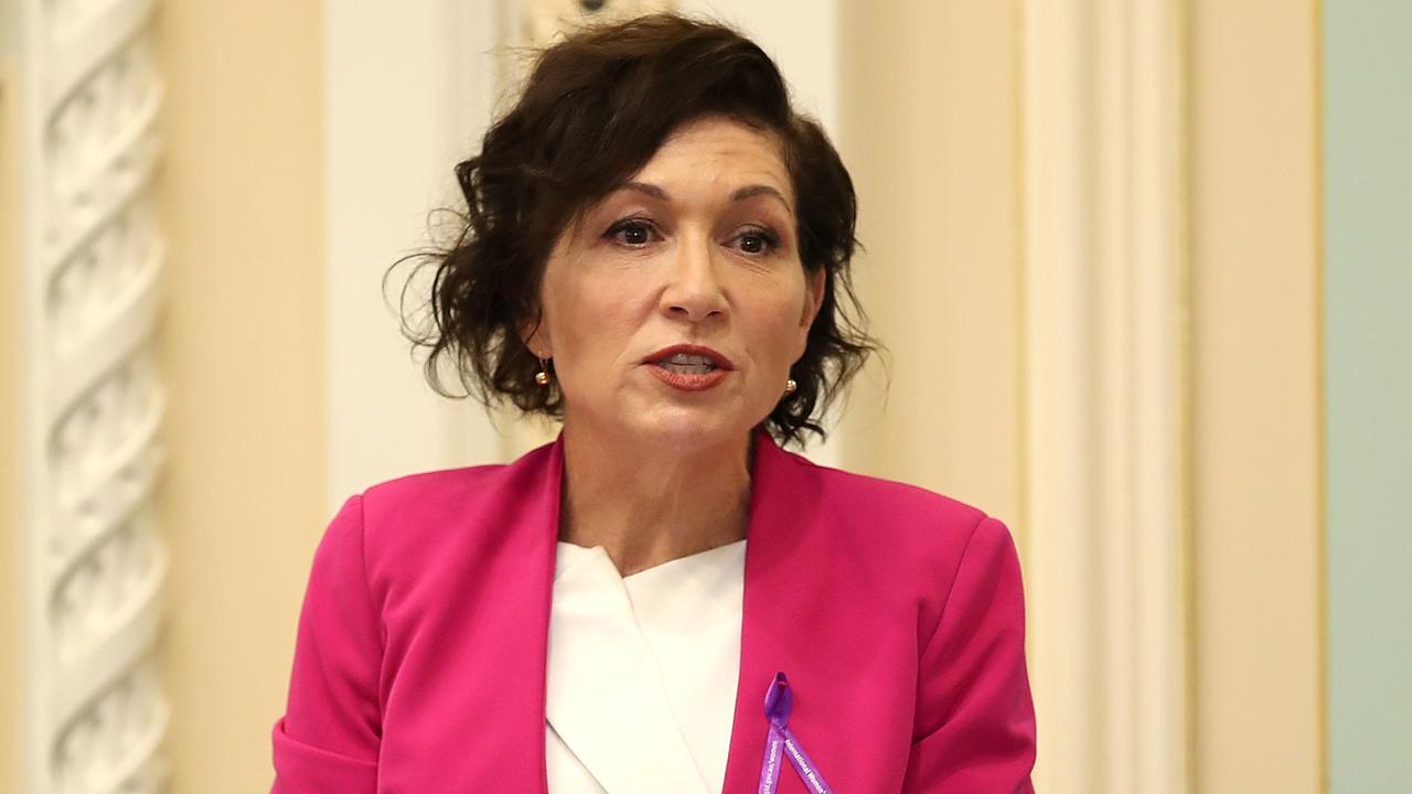 Housing Minister Leeanne Enoch. Picture: NCA NewsWire / Jono Searle