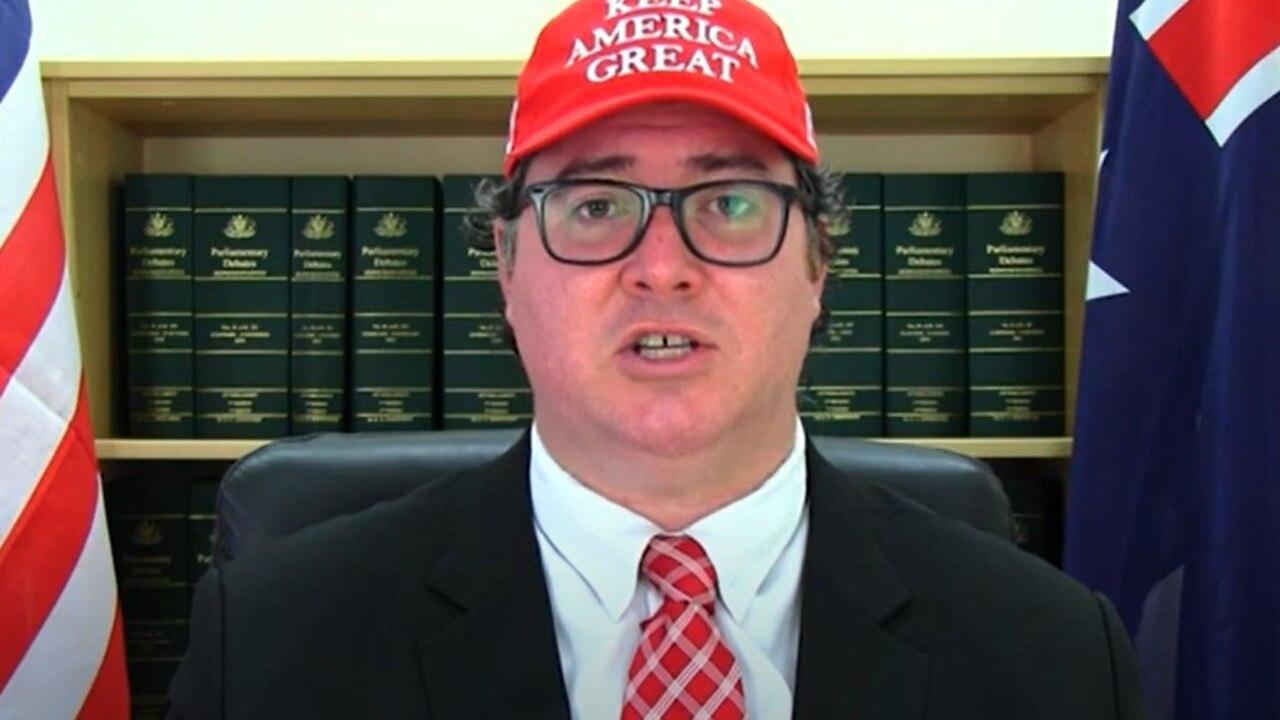 Dawson MP George Christensen. Picture: George Christensen, YouTube.