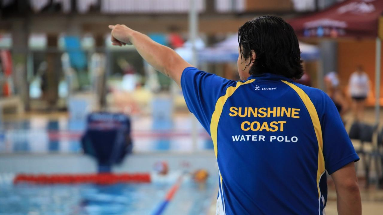 Edgar Choy appointed coach of Sunshine Coast Water Polo's under 14 girls. Picture: Caroline Martin.