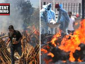 Mass cremations in India after horrific second COVID-19 wave