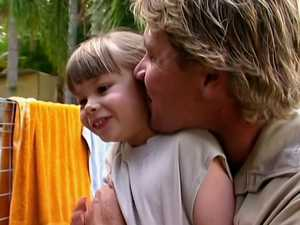 Steve Irwin's heartwarming video at Bindi's baby shower