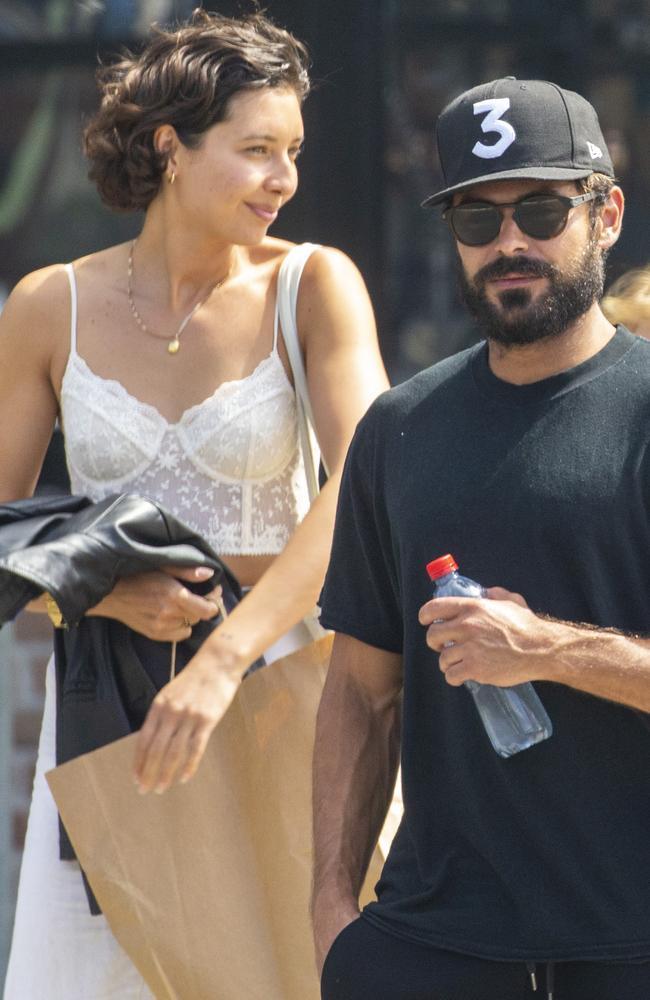 Zac Efron and Vanessa Valladares have split. Picture: MediaMode