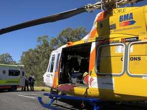 Five in hospital after Bruce Highway crash