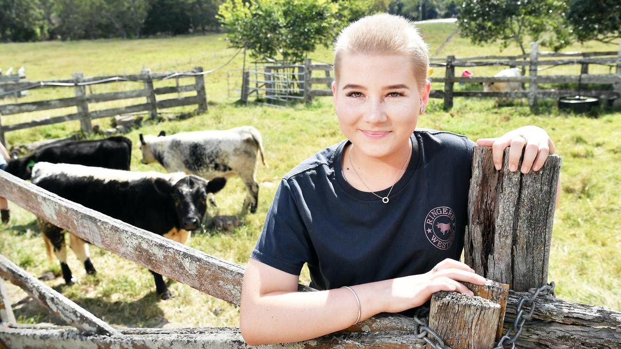 Ella Bevan is determined to show kids battling cancer that they can do great things during their treatment. Picture: Patrick Woods.