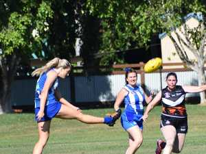 IN PHOTOS: AFLC's traditional Anzac Day clashes