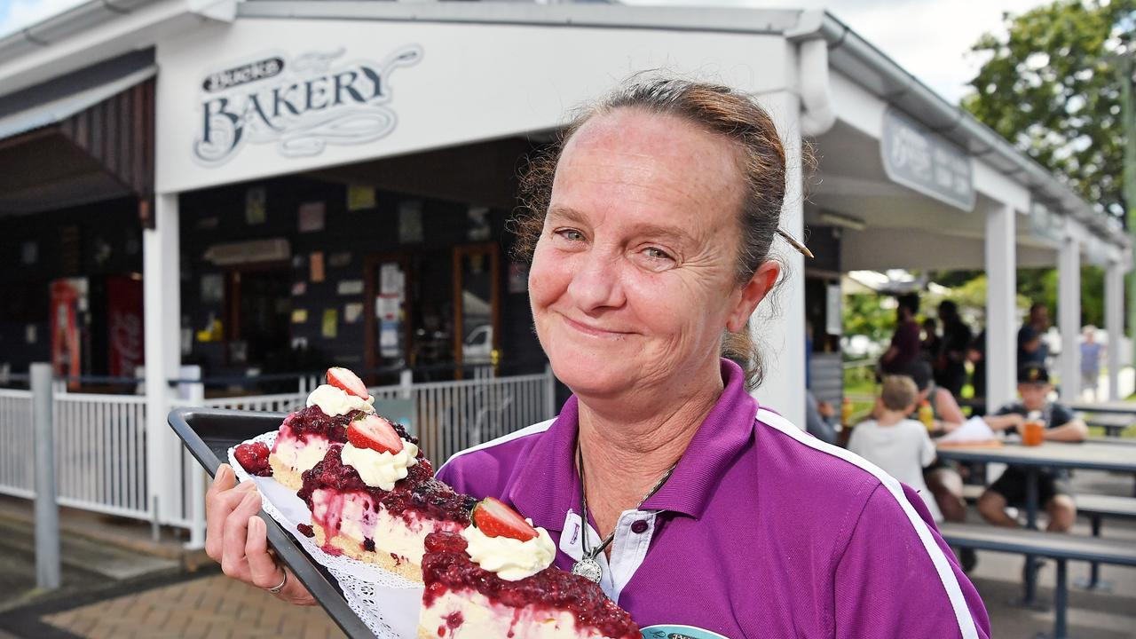 Buck's Bakery has been voted the best bakery on the Sunshine Coast. Pictured, manager Dani Wright. Photo: Patrick Woods.