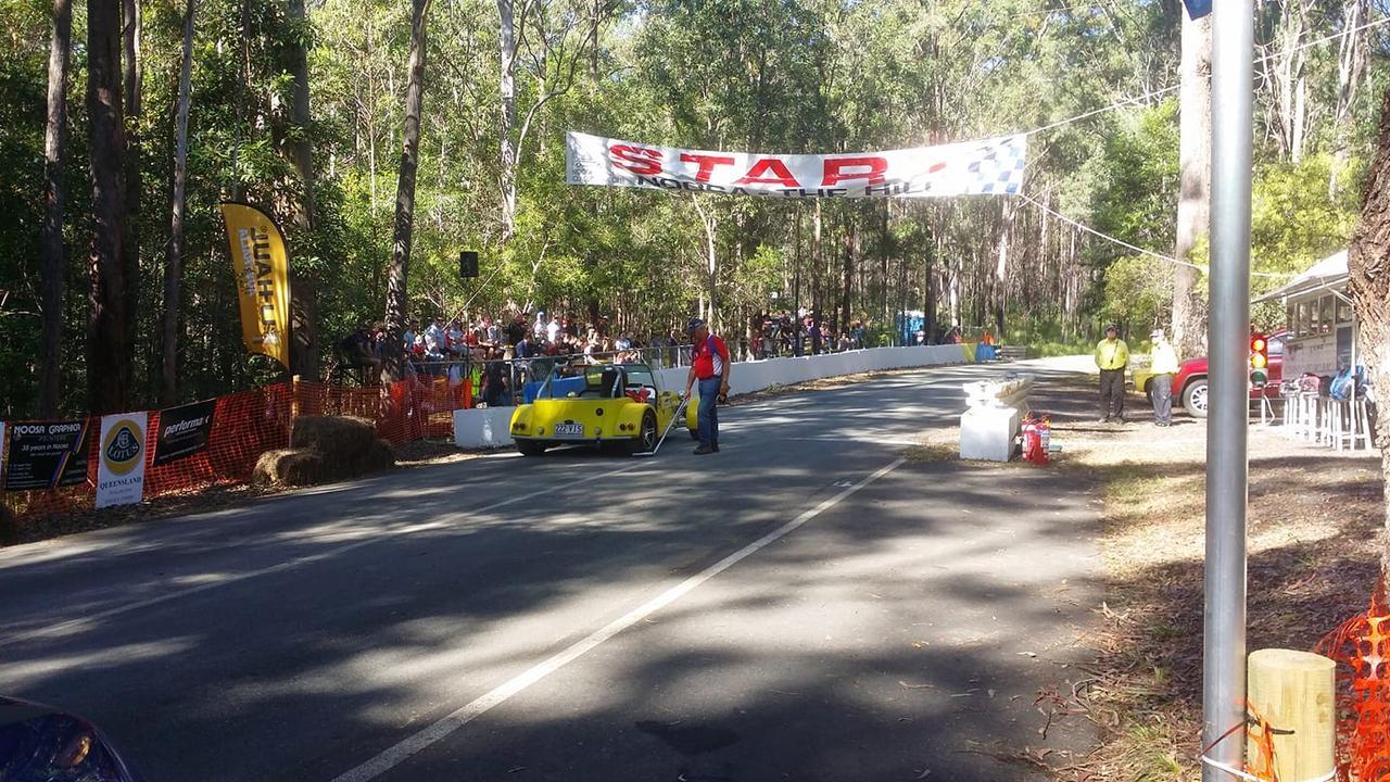 Sunshine Coast Motor Sport Club president Jonathon Reynolds is looking for a venue to get hoons off Coast streets.