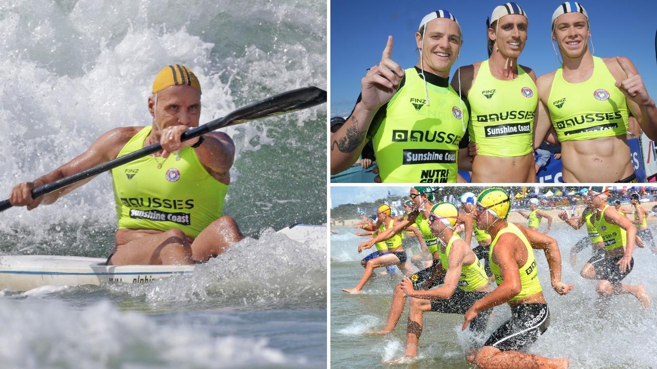 Sunshine Coast athletes took home plenty of gold during the Australian Surf Life Saving Championships. Picture: Harvpix