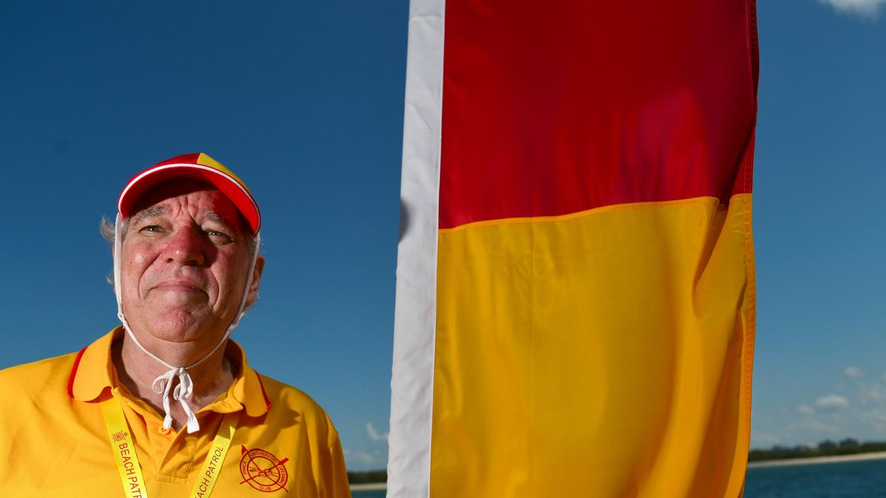 Ithaca-Caloundra City Life Saving Club life member James McClelland was one of the first on scene and performed CPR on a teen boy injured at Bulcock Beach on Saturday.