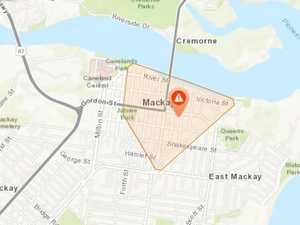 Power outage hits Mackay's CBD