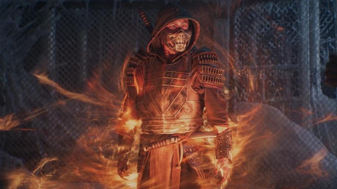 Hiroyuki Sanada as Scorpion in Mortal Kombat. Picture: Warner Bros
