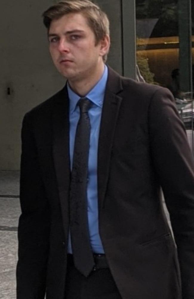 Warner Telstra salesman Riley Daniel Smith, 22. Picture: Alex Treacy
