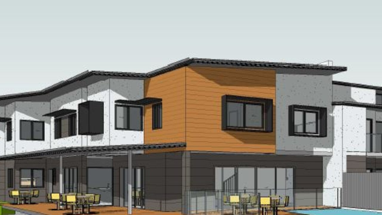 Plans for Mackay Adventure Lodge and Apartments in Andergrove. Picture: Supplied