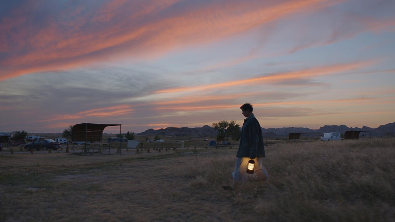 Frances McDormand in the film Nomadland. Picture: Searchlight Pictures