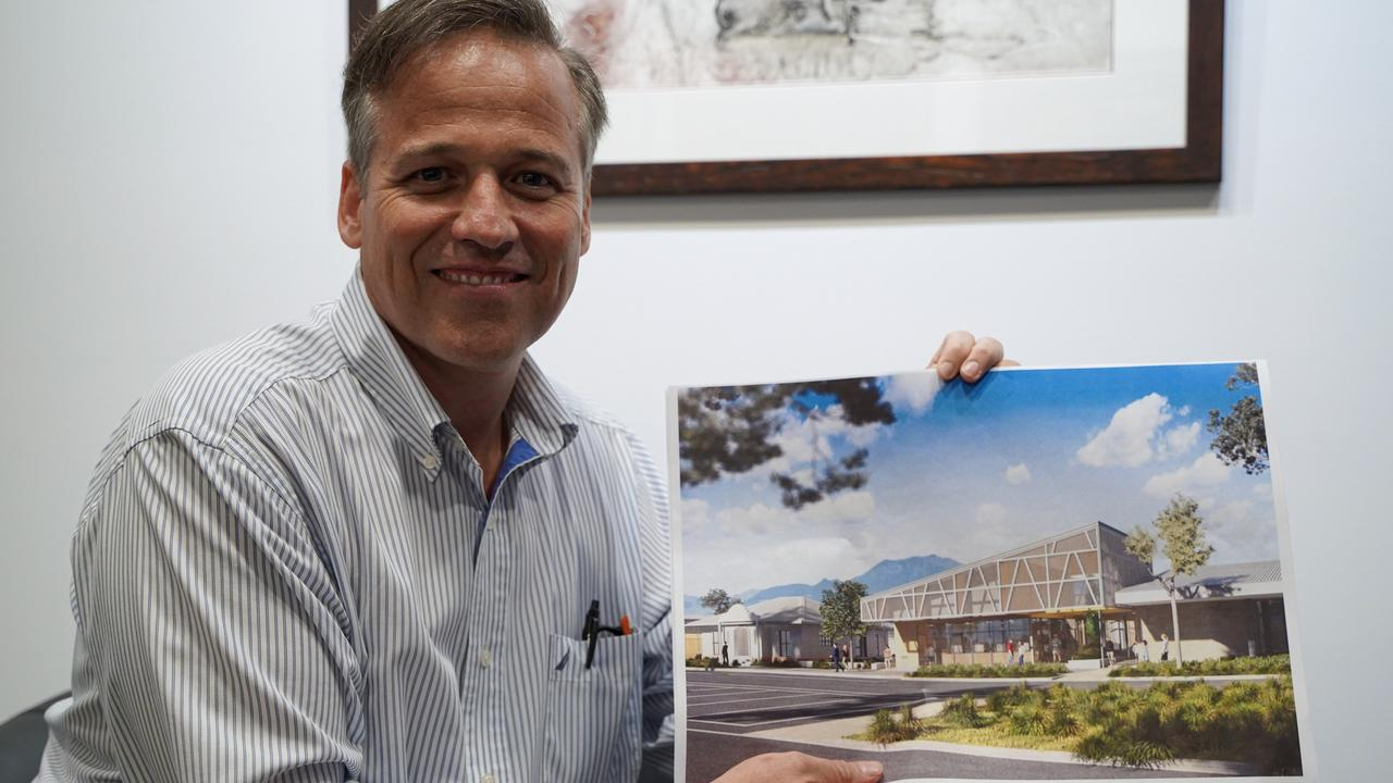 Mackay Regional Council strategic planning manager Jaco Ackerman is one of the key designers of the Mirani Community Precinct. Picture: Heidi Petith