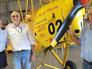 Legendary Mackay aviation figure Mike Jones passes away