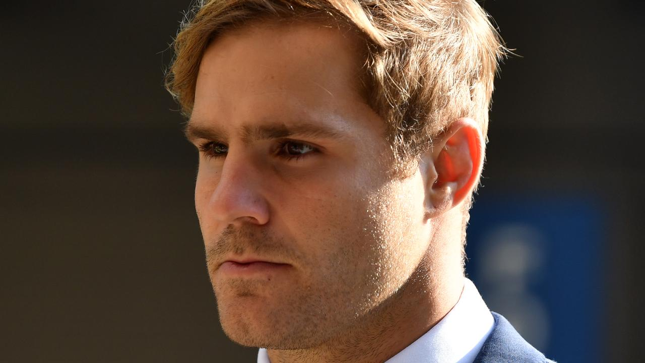 A court has heard secret recordings of NRL star Jack de Belin's phone calls in the days after he learned a woman had accused him of sexual assault.