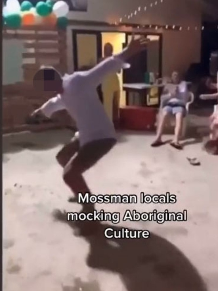 Others did other culturally insensitive moves for the crowd.