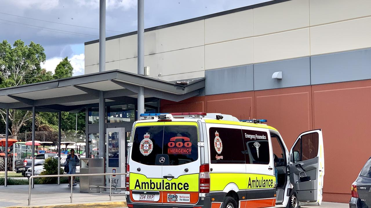 Emergency services were called to Howard Street in Nambour after a mattress caught fire. Picture: Patrick Woods