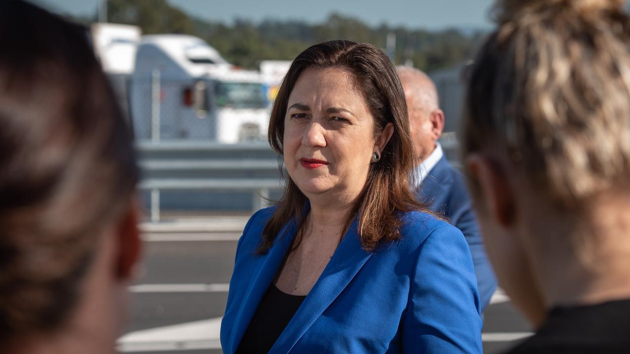 Premier Annastacia Palaszczuk has called on Prime Minister to suspend flights from coronavirus-ravaged India. Picture: Brad Fleet
