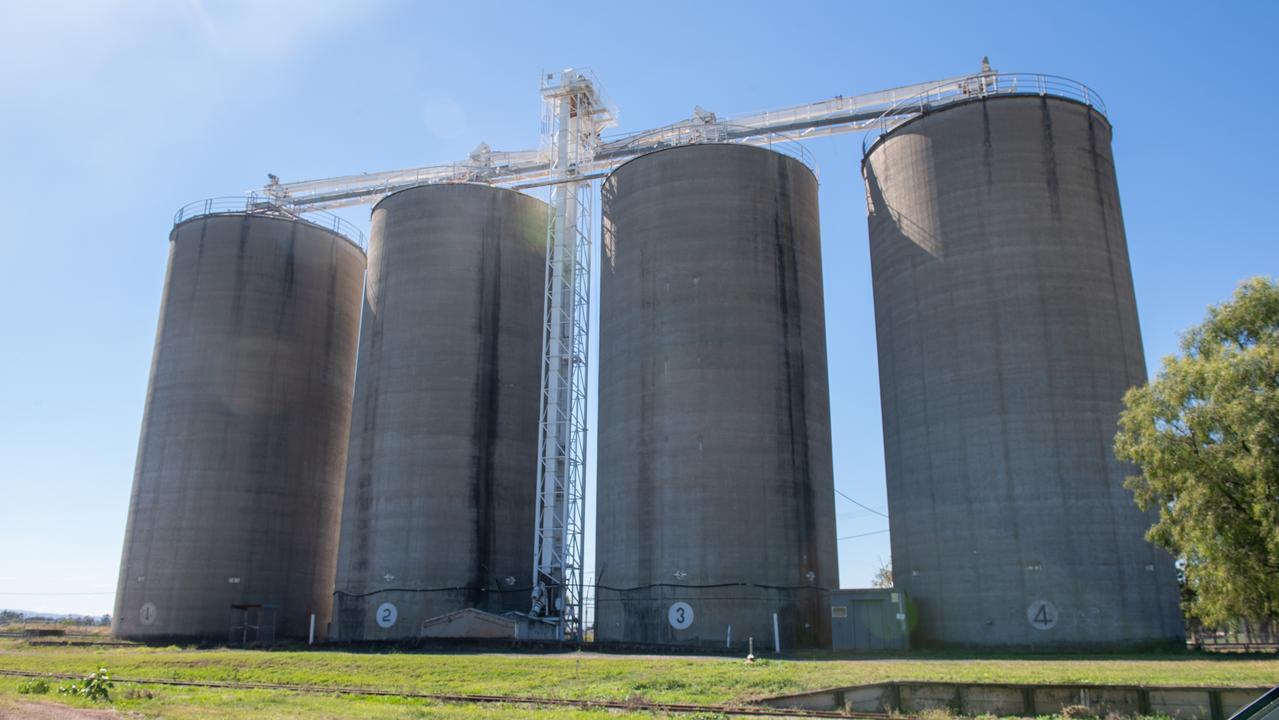 Forest Hill silos. PHOTO: Ali Kuchel