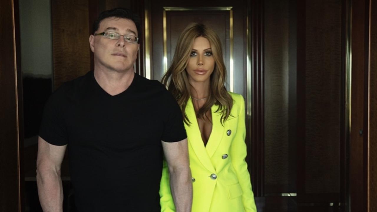Ultra Tune owner Sean Buckley and then girlfriend Jennifer Cruz Cole.