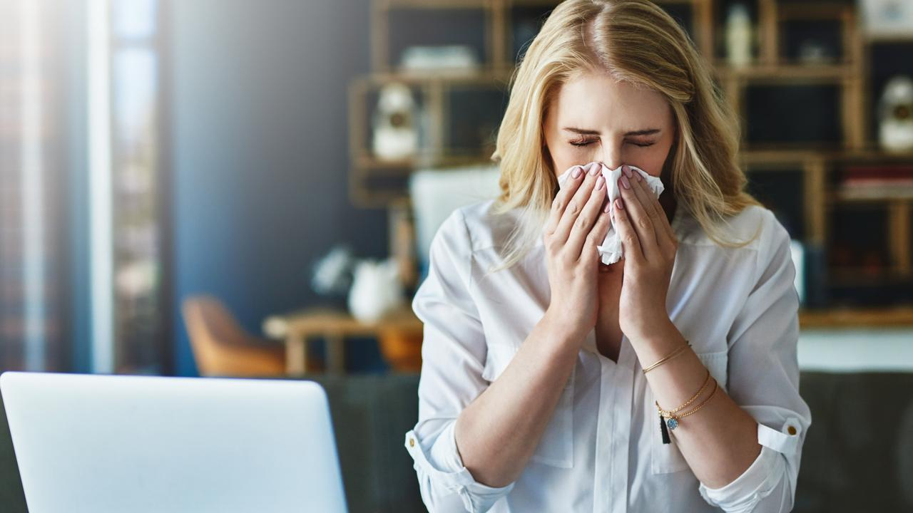 General sickness like colds have been down since we were stuck at home. Picture: Istock