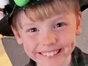 'Sweet' child fighting for life after freak accident