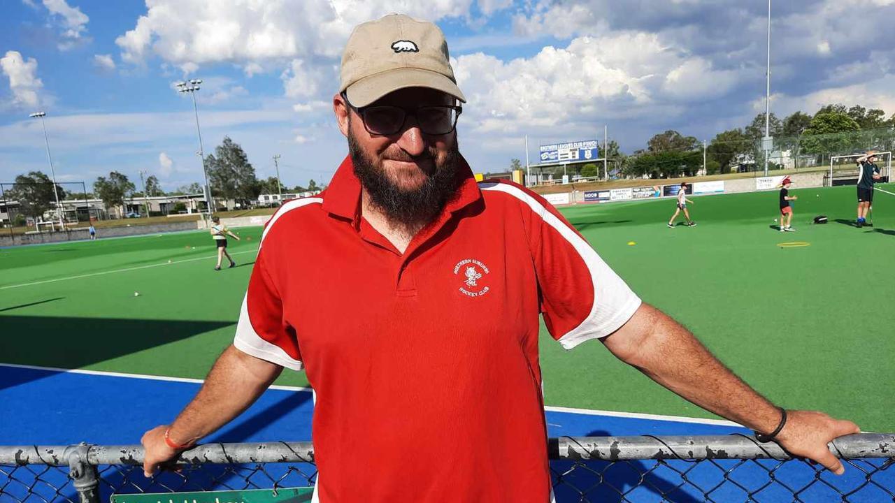 Norths and Ipswich representative hockey coach Steve Profke. Picture: David Lems