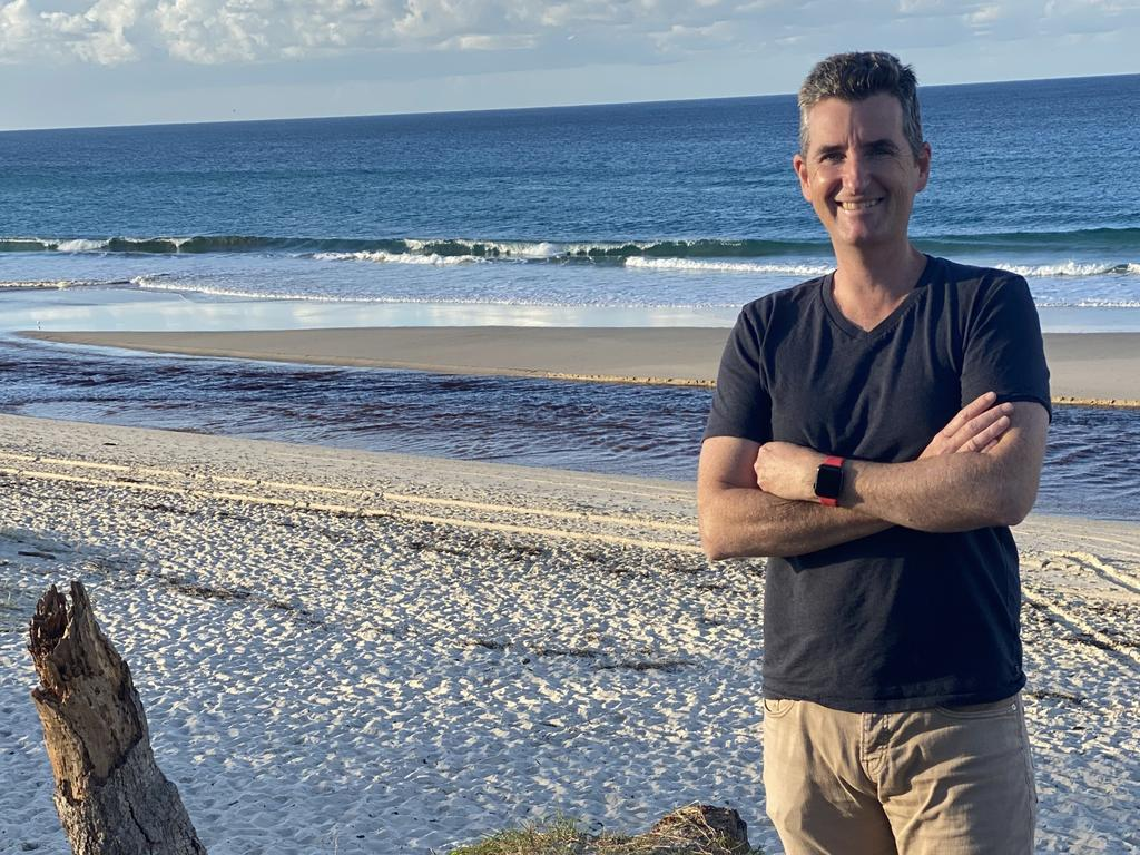 Split Payments chief executive Chris Jewell is attracting IT talent to Byron Bay. Picture: Supplied