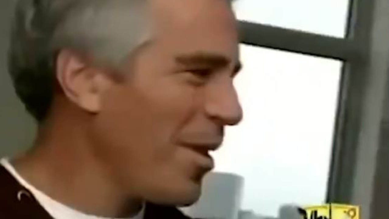 Jeffrey Epstein in the early noughties TV show.