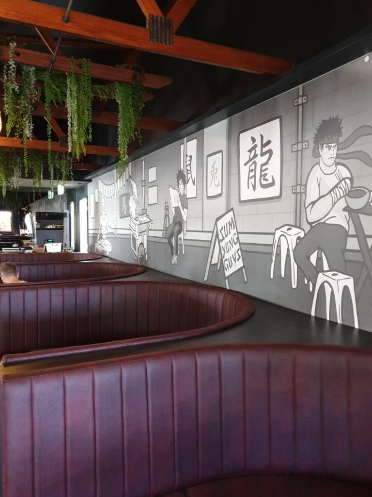 A sneak peek inside the new Sum Yung Guys restaurant opening in Noosaville.