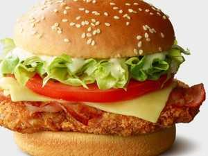 Macca's unveils three new burger items