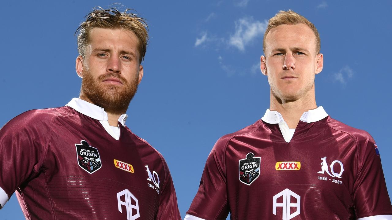 Origin stars Cameron Munster and Daly Cherry-Evans awere both overlooked by the Broncos. Picture: Scott Davis/QRL