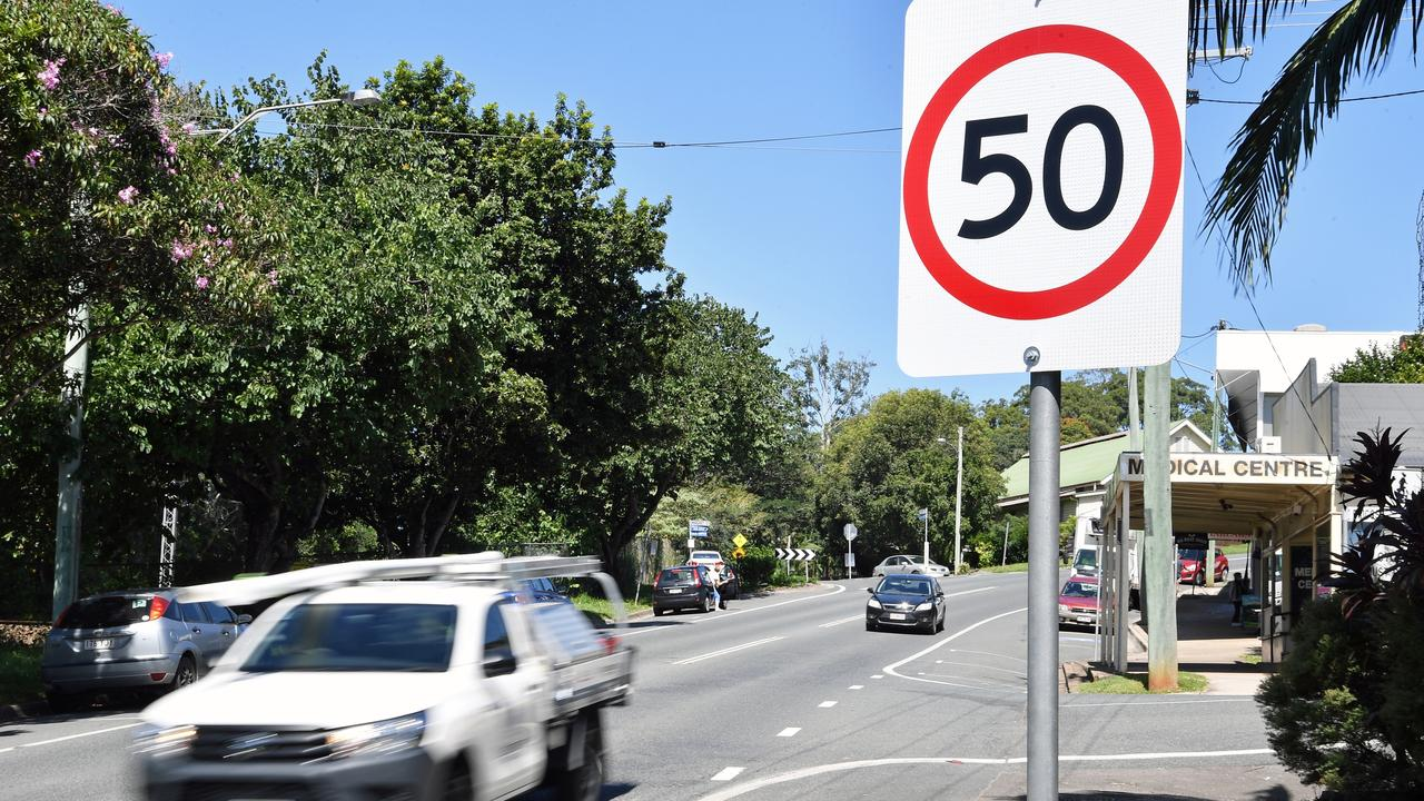 A campaign has been launched to improve road safety in Palmwoods. Picture: Patrick Woods.