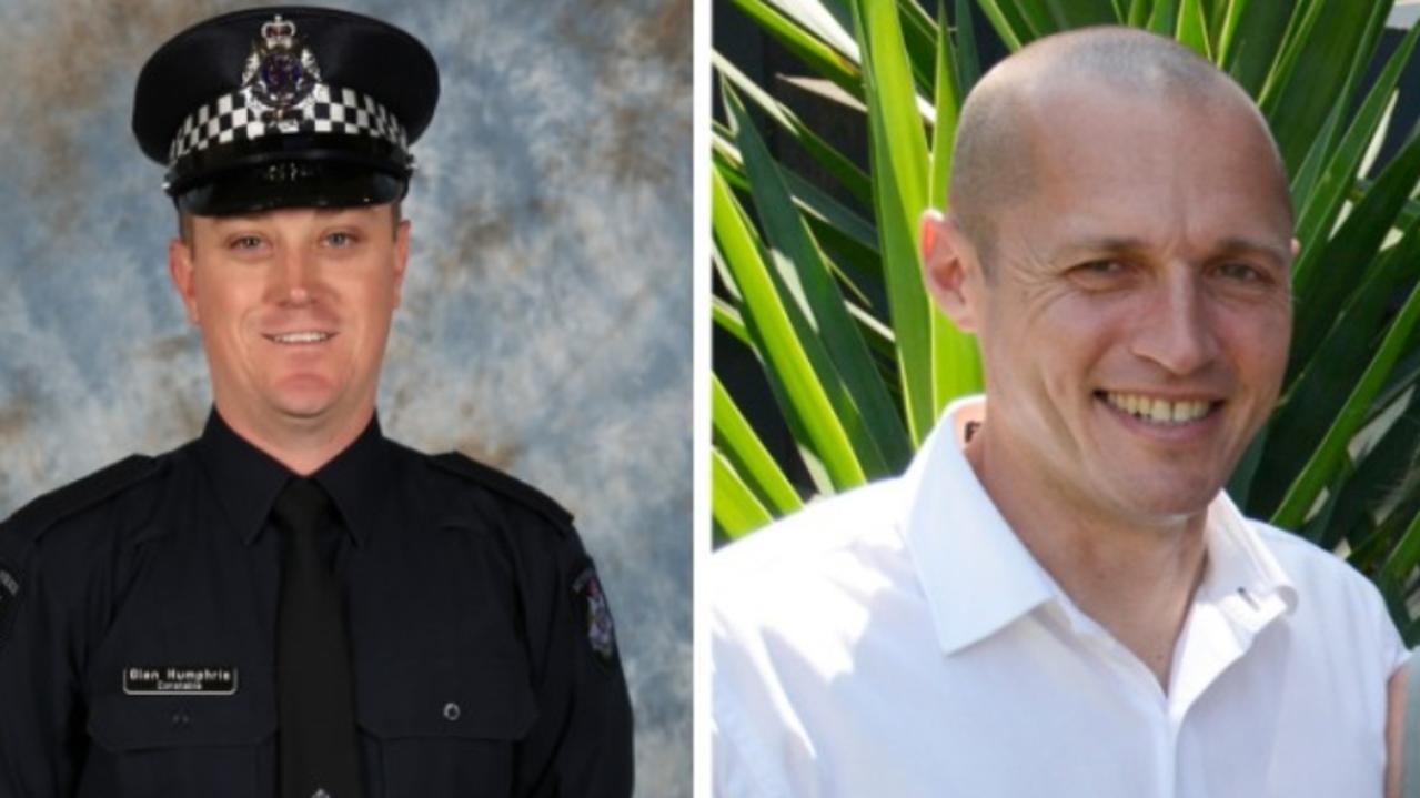 Constable Glen Humphris and Senior Constable Kevin King.