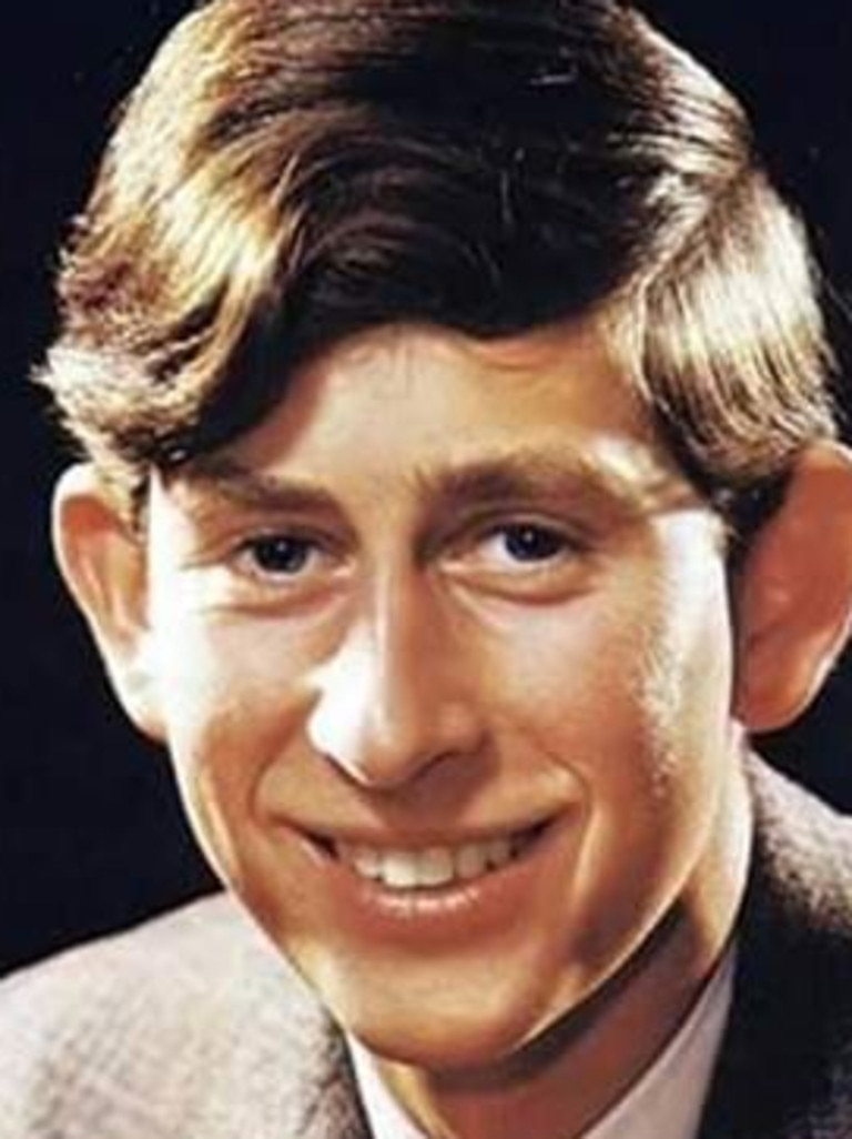 A photo of a young Prince Charles. Picture: Simon Charles Dorante-Day/Facebook