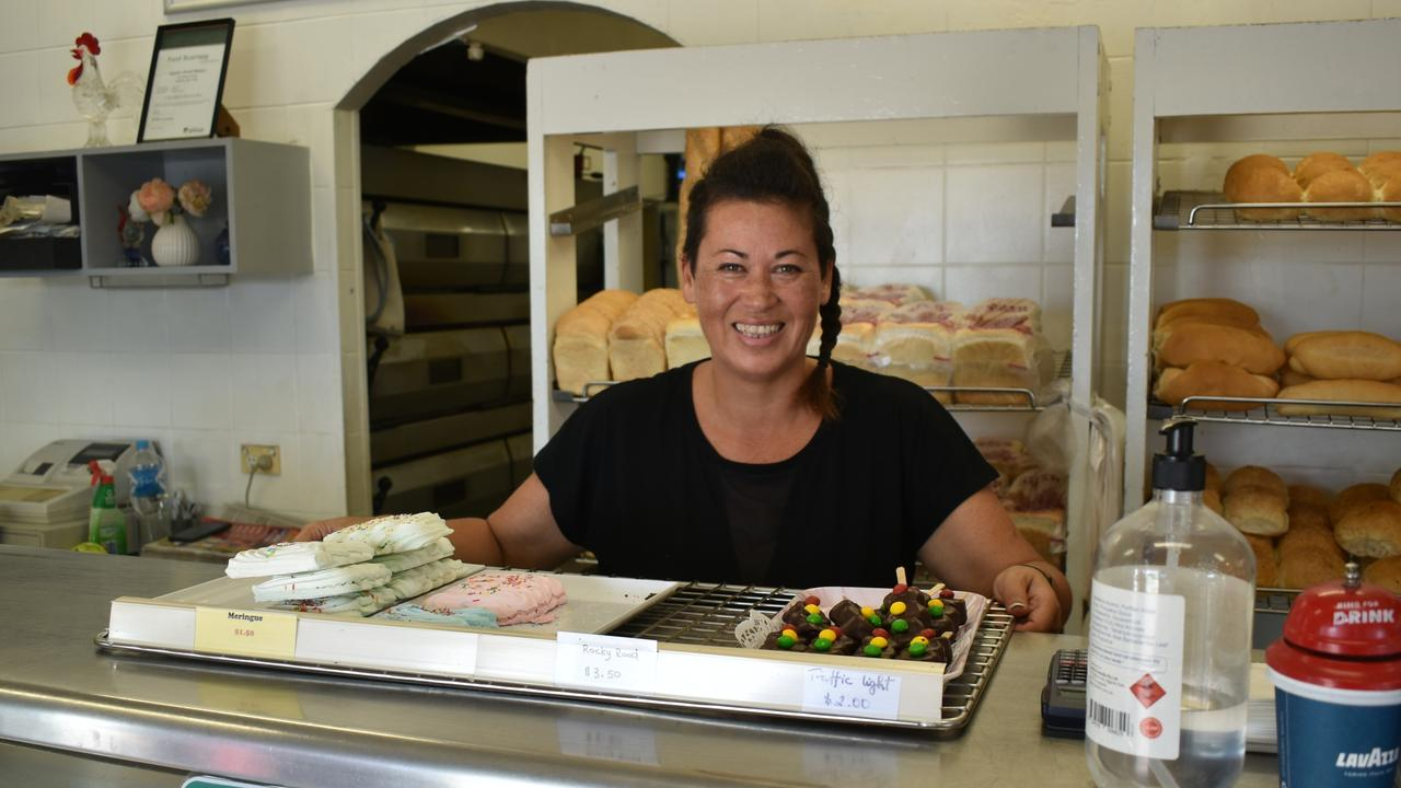 Staff at Hunter Street Bakery are all smiles after taking out Ipswich's Best Bakery.