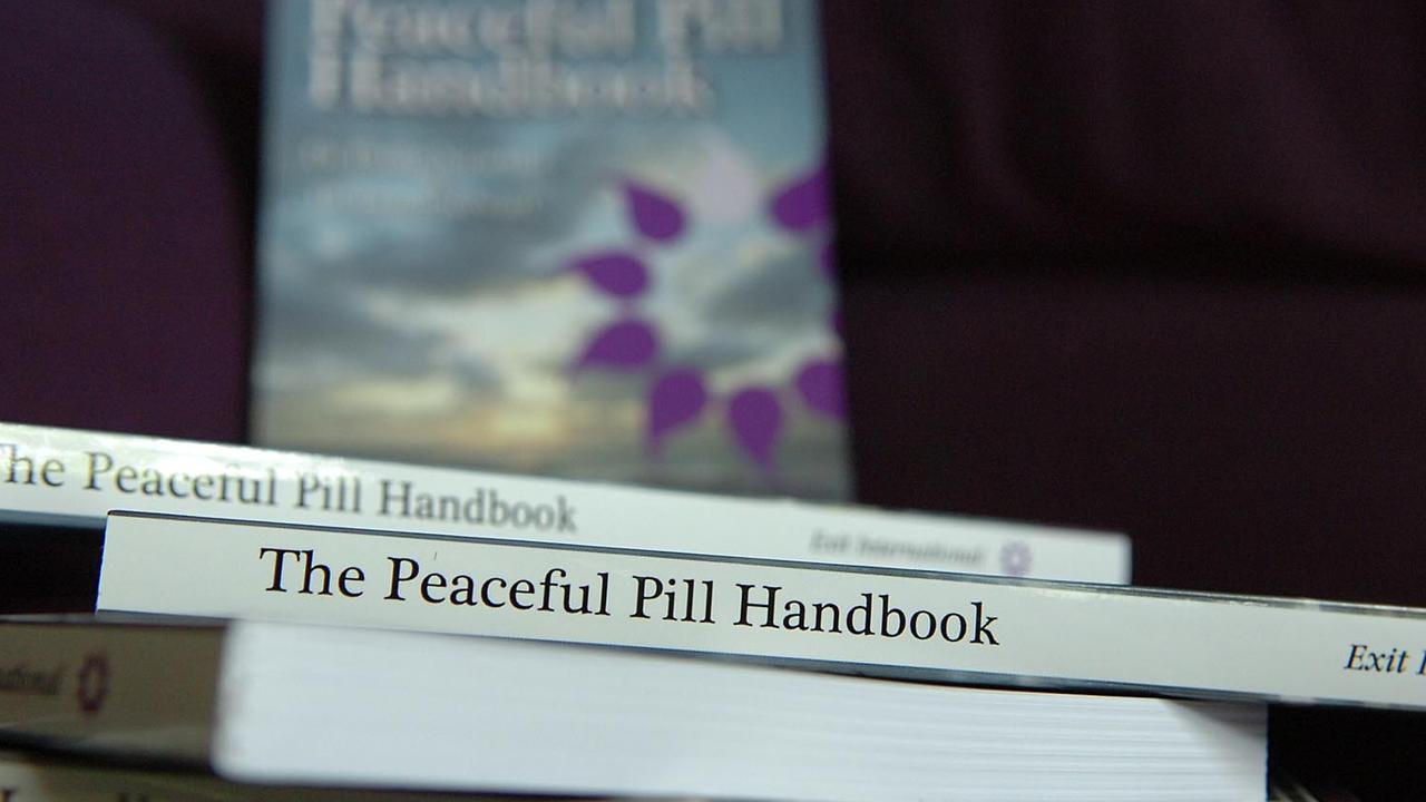 Philip Nitschke's Peaceful Pill Handbook.