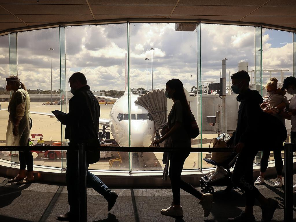 Travellers from India may still be able to come to Australia despite a pause on flights. Picture: Ian Currie