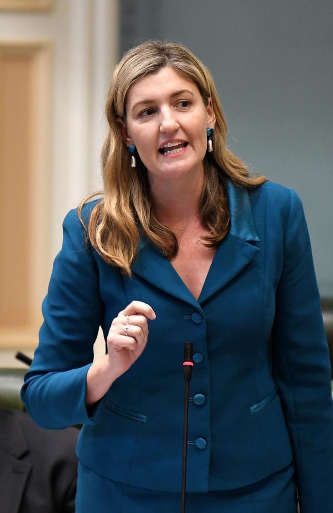 Queensland Attorney-General Shannon Fentiman. Picture: NCA NewsWire / Dan Peled