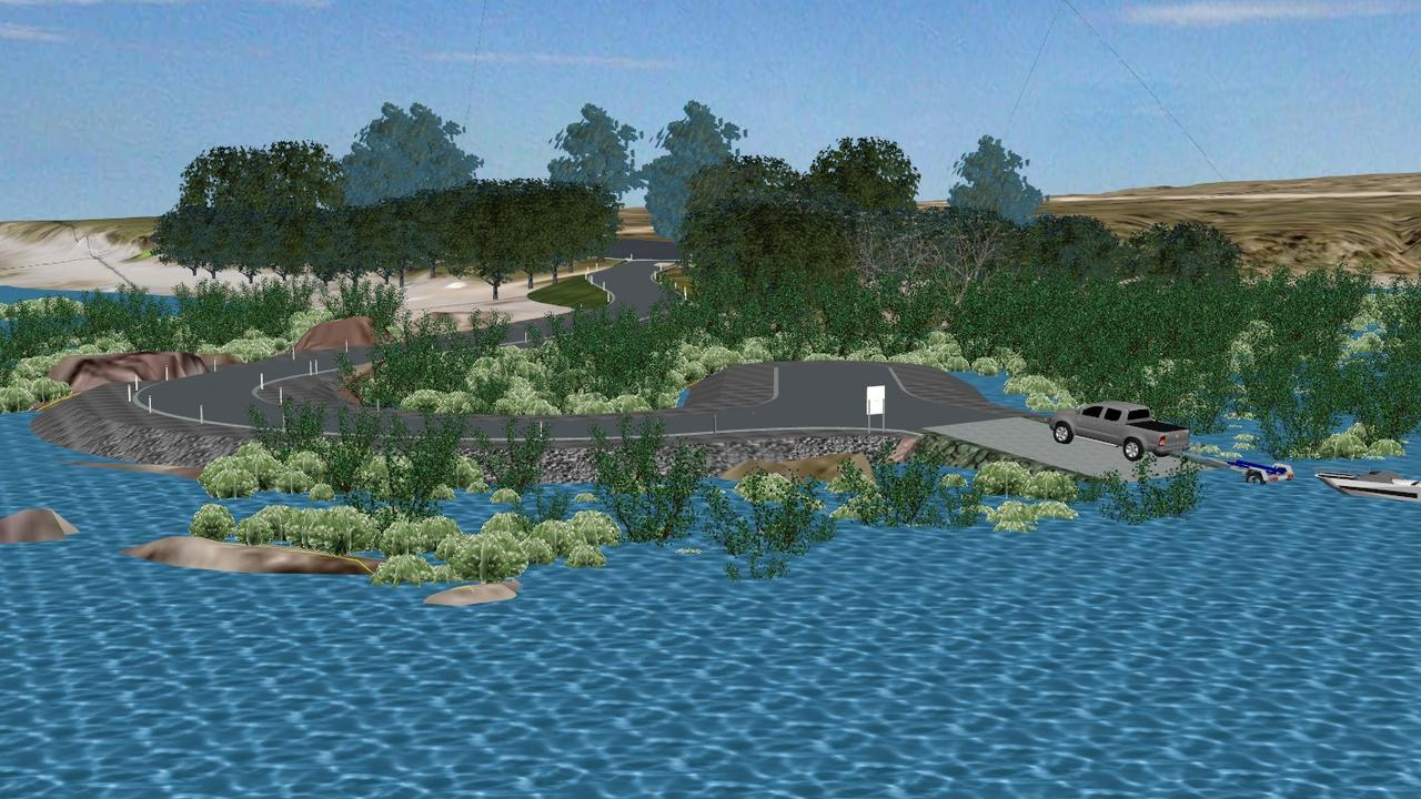 Designs of the new Midge Point boat ramp. Picture: Contributed