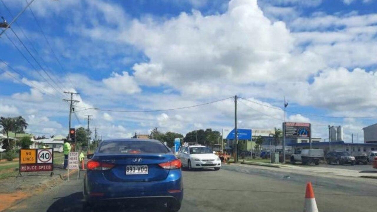 Roadworks are continuing on Princess Street and Bundaberg-Bargara Road.