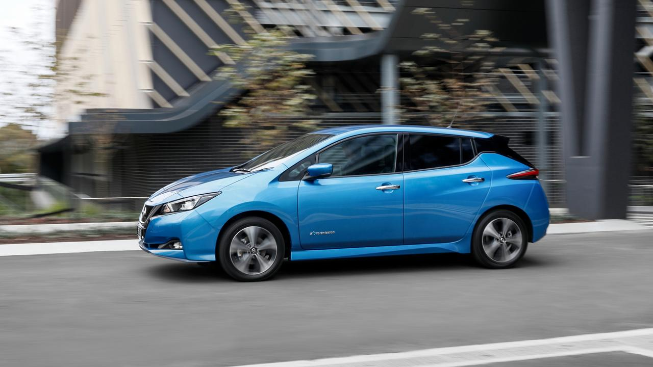 Photo of the 2021 Nissan Leaf