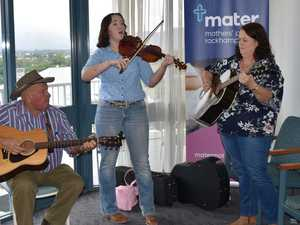 Live music for Mater patients ahead of Beef Australia